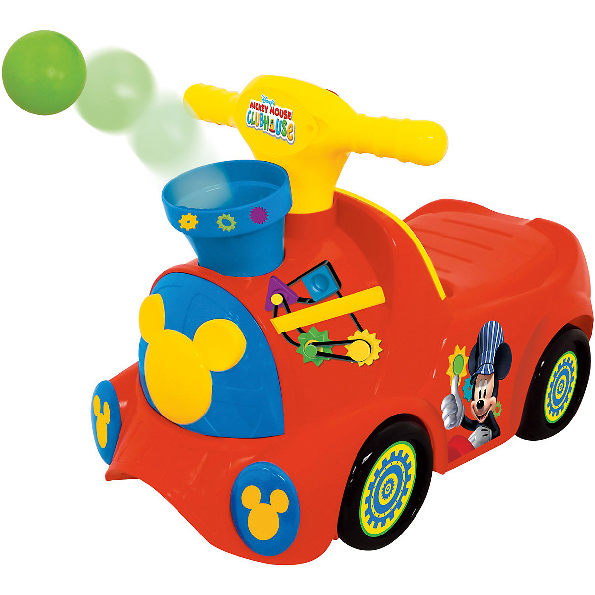 KIDDIELAND Ride On Cars 9508138 Children electric car Outdoor Fun Sports Ride On Toys walker toy game Kids peppa s car ride