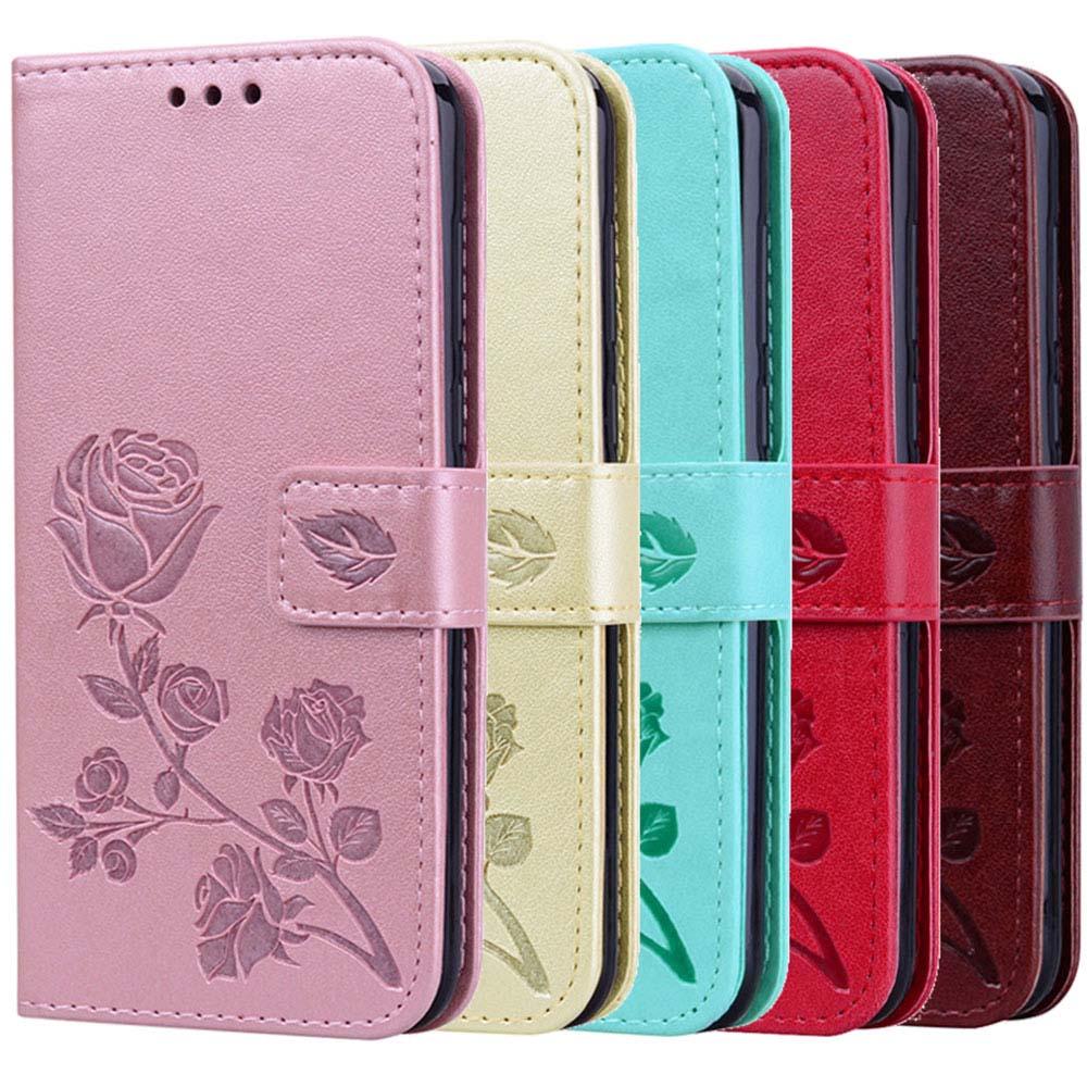 100% Kwaliteit Kisscase 3d Bloem Leather Case Voor Huawei Y5 Y6 Y7 Prime 2018 Y9 2019 Mate 20 P20 Pro Lite P Smart Honor 8x 8c 9 10 Lite Cover
