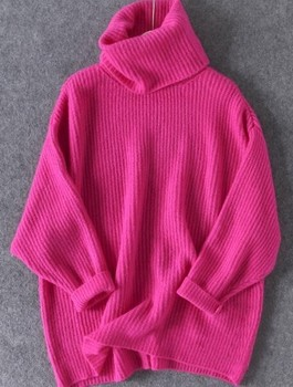Oversized Turtleneck Sweater 1