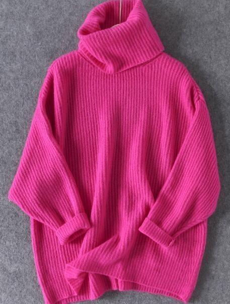 Oversized Turtleneck Sweater 1