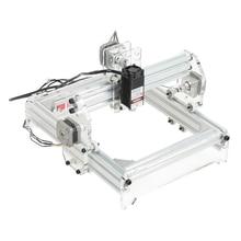 20×17 cm 3000 MW Laser Machine de gravure kit de bricolage Instrument de sculpture pour la coupe de bureau et la gravure prise US