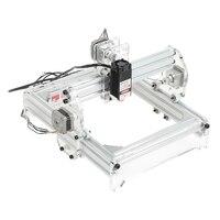 20x17 см 3000 МВт лазерная гравировка машины DIY Kit вырезка инструмент для рабочего стола резка и США Plug