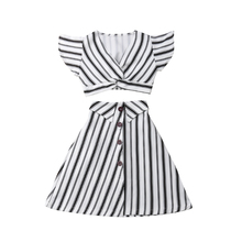 US $6.81 23% OFF|3 8T Kids Baby Girl Clothes Set Striped Sleeveless Crop Tops Long Skirt Casual Summer Party Kid Girl Outfits 2PCS-in Clothing Sets from Mother & Kids on Aliexpress.com | Alibaba Group