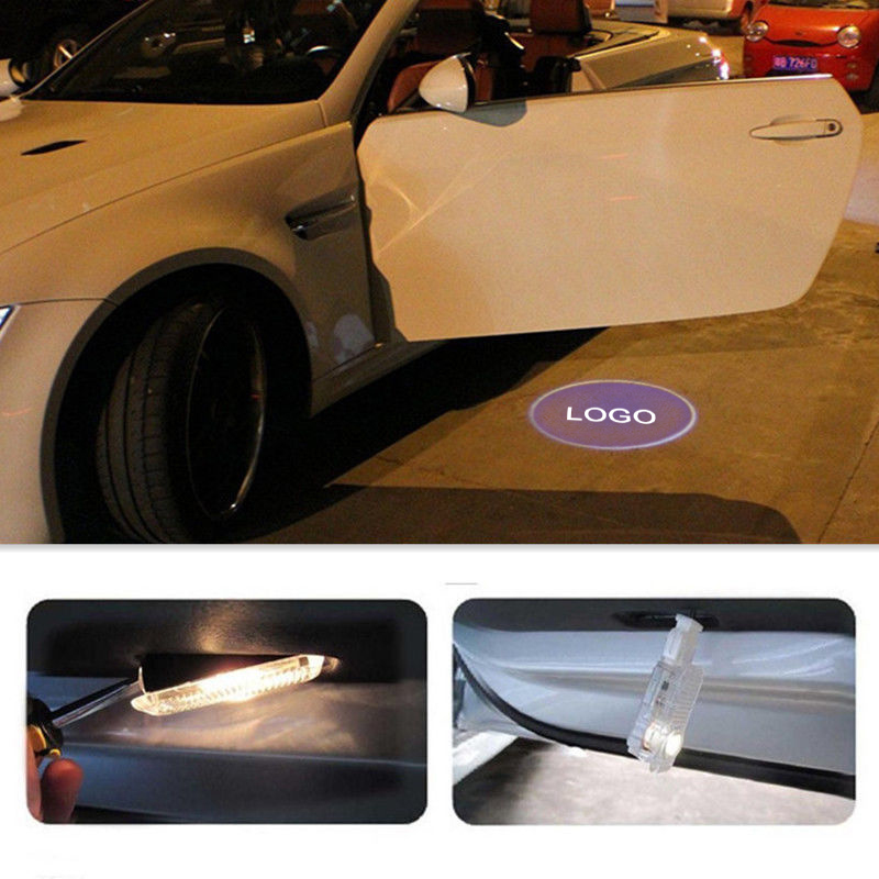 Door Warning Light With Sline Logo Projector For Audi Allroad A3 A4 B6 B8 B7 A6
