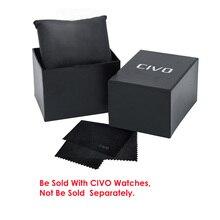 CIVO бумажная Подарочная оригинальная коробка для часов