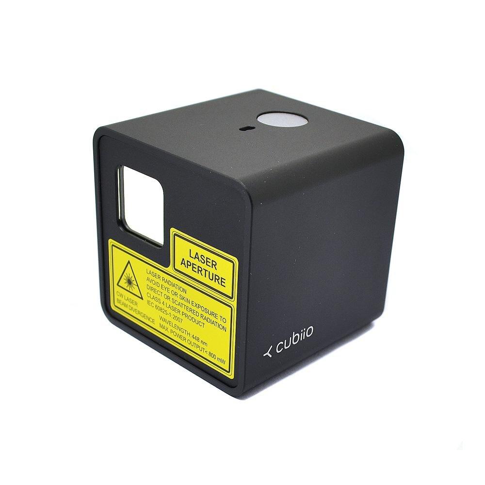 Cubiio Intelligente Automatica Piccoli Elettrodomestici FAI DA TE Modello In Miniatura di Sicurezza Laser Macchina Per Incidere (Colore Casuale)