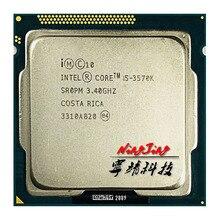 인텔 코어 i5 3570K i5 3570 k 3.4 ghz 쿼드 코어 cpu 프로세서 6 m 77 w lga 1155