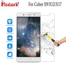 Mcdark-Protector de pantalla de cristal templado 2.5D 9H para Cubot X9 /X12, 5,0 pulgadas, para Cubot X17 /X17 S, película de cubierta de vidrio templado para teléfono