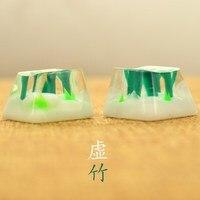 1 peça de resina bambu chave boné manual criativo personalizado keycap para teclado mecânico esc r4 altura
