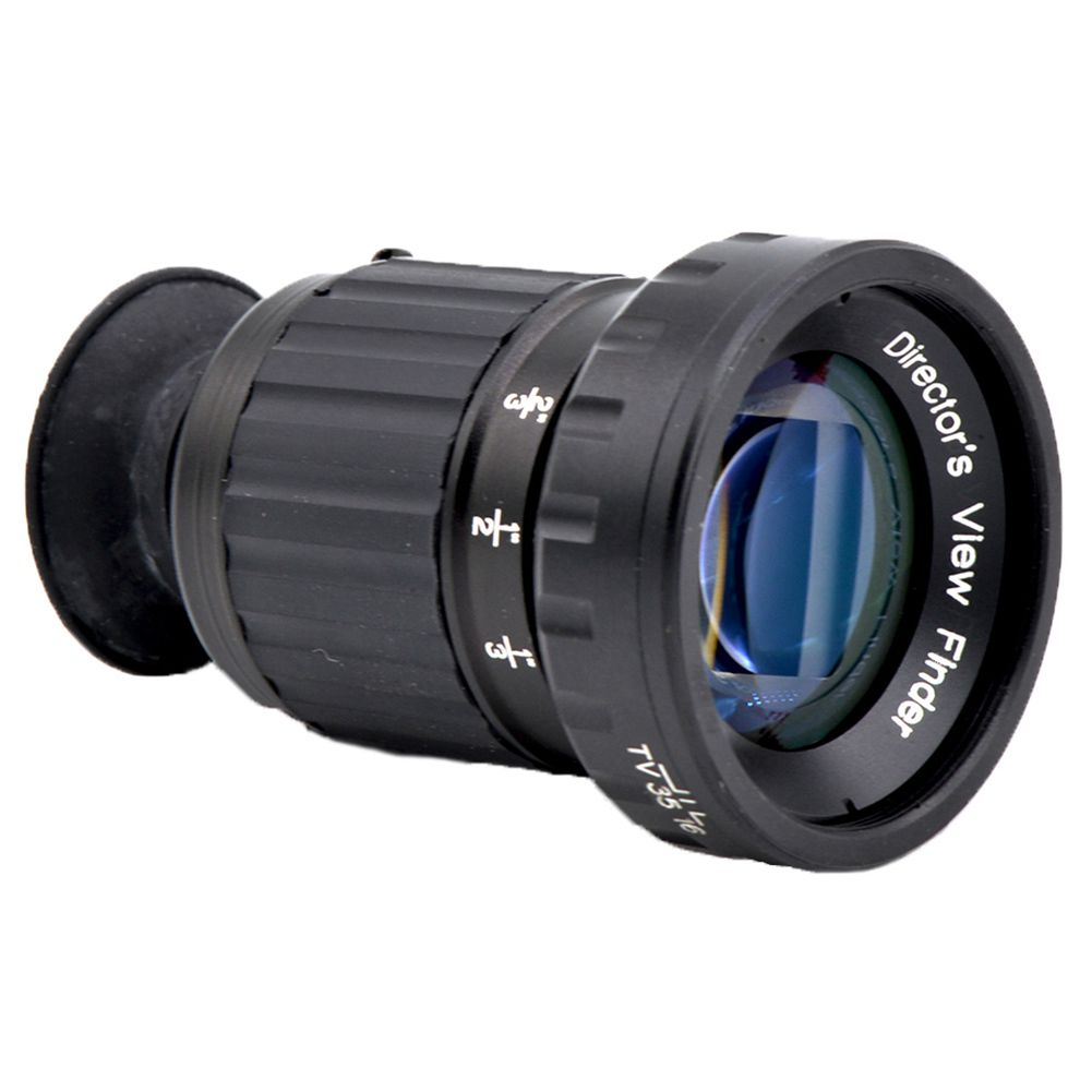 ADX Draaien Zoom Professionele Directeur Metalen HD Zoeker met 11x Zoom Telescopische met klik stopt op brandpuntsafstand