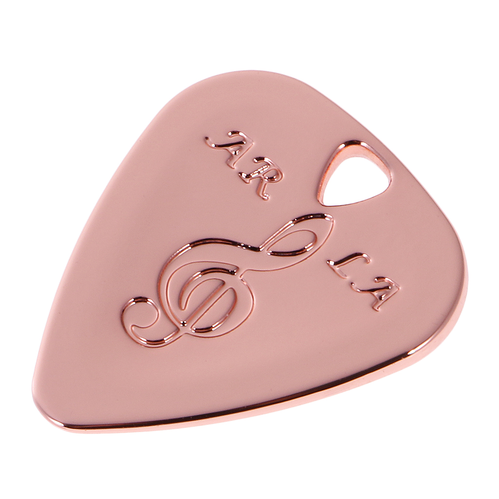 Metal Guitar Pick Plectrum for Bass Acoustic Electric Guitar Part Accessories Can be Used as a Pendant of Necklace or Bracelet in Guitar Parts Accessories from Sports Entertainment