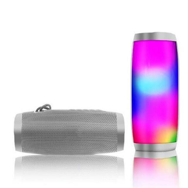 TG157 LED Melody latarnia innowacyjne prezent na zewnątrz wodoodporny bezprzewodowy głośnik bluetooth 5 w mocy Subwoofer
