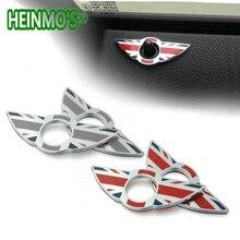 Юнион Джек фиксатор замка двери эмблема наклейка с дизайном «Крылья» Украшения для MINI Cooper S R53 R55 R56 R57 R58 R59 F55 F56 авто аксессуары