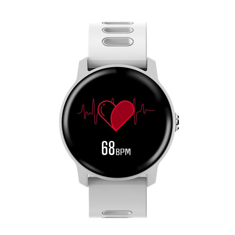 SENBONO S08 Bluetooth Smart Watch Heart Rate Health Monitor Sport Smartwatch Call Msg Display Smart Bracelet For IOS Android
