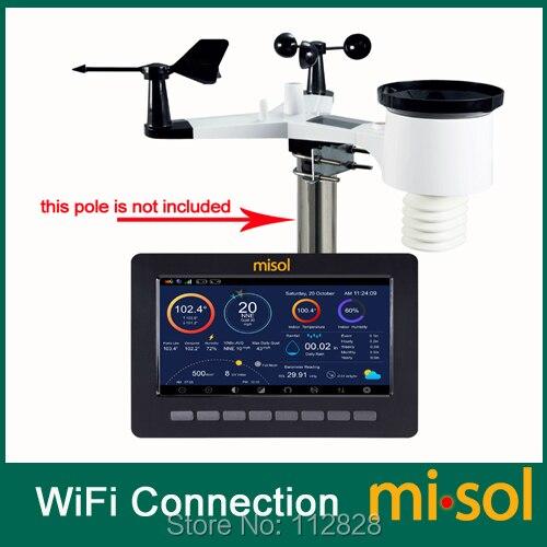 Беспроводная метеостанция, подключение к Wi Fi, загрузка данных в сеть (wunderway)