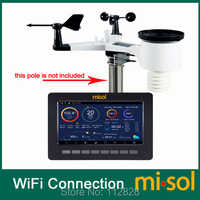 Wireless weather station connect to WiFi, upload data to web (wunderground)