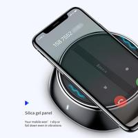 Baseus 2 in 1 Multifunctional 10W Wireless Charger+ 5V 3.4A 3 Port USB Charger for iPhone Samsung Xiaomi Mobile Phone Charger