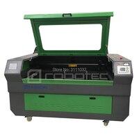 Robotec EFR 80W 100W 150W lazerli ahşap kesme makinası/CO2 CNC lazer pleksiglas MDF akrilik iş kesme makine düşük fiyat