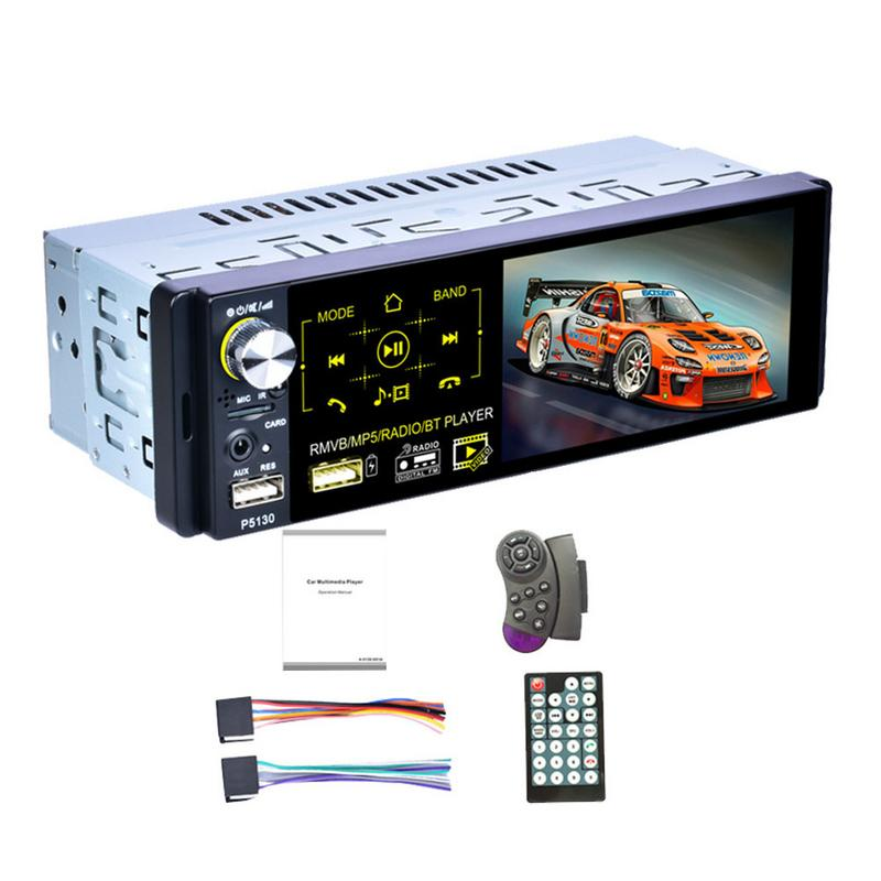 Car Radio 1din Autoradio 4 1 Inch Capacitive Touch Screen Audio Infrared Rear View Camera 7