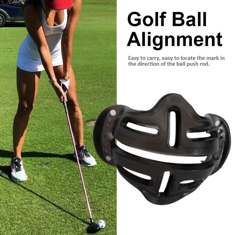 Новый дизайн мяч для гольфа выравнивание линии маркер знаки шаблон-схема шаблон линейный Putt позиционный мяч Mark выравнивание положить клип