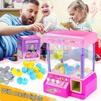 Carnival Claw Game Electronic Claw Game Crane Candy Doll Machine Grabber Kids Toy Home Arcade Gift