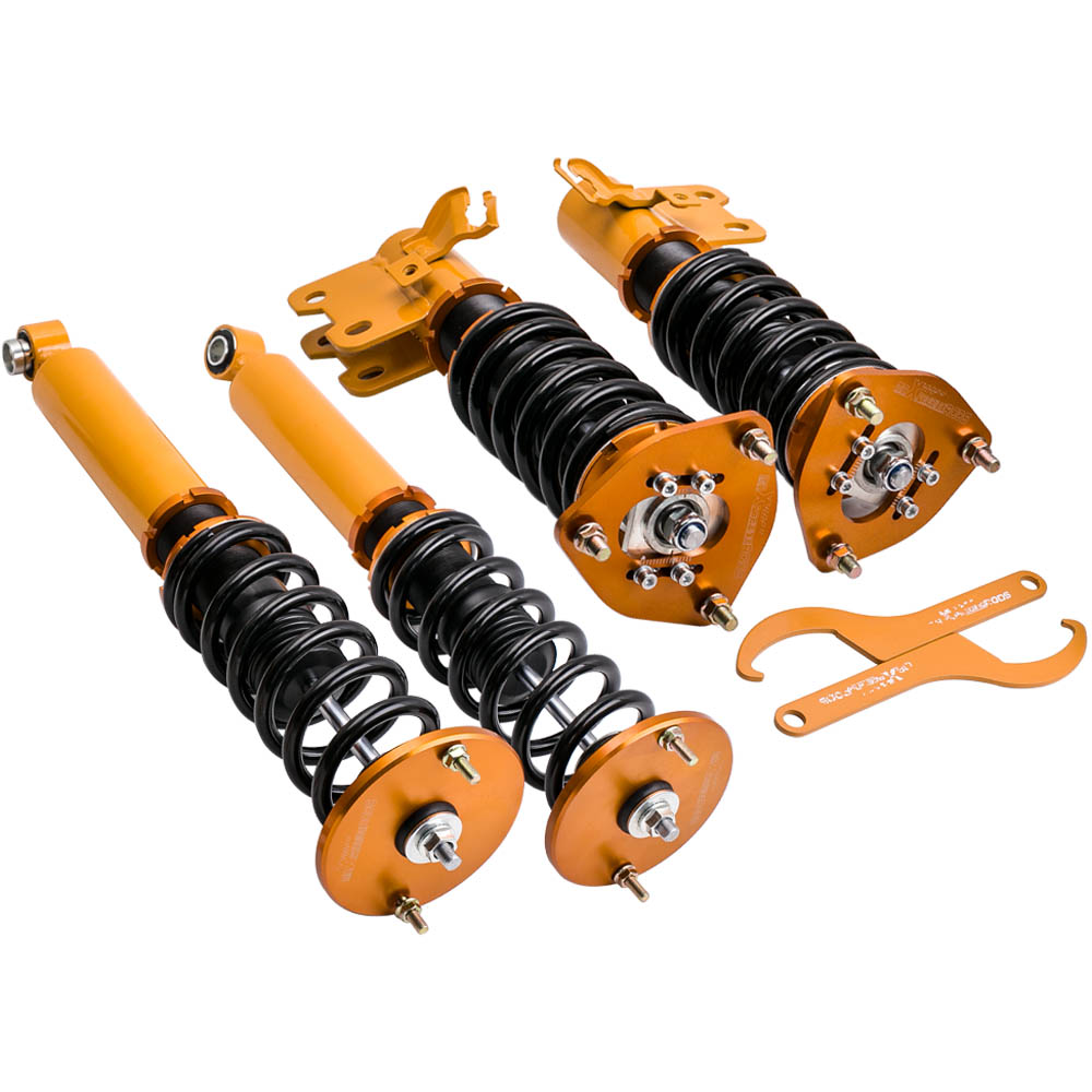 Coilover Suspension For Nissan S14 200SX 240SX Silvia Adjustable Height  Shock Absorber Strut  CoiloversCoilover Suspension For Nissan S14 200SX 240SX Silvia Adjustable Height  Shock Absorber Strut  Coilovers