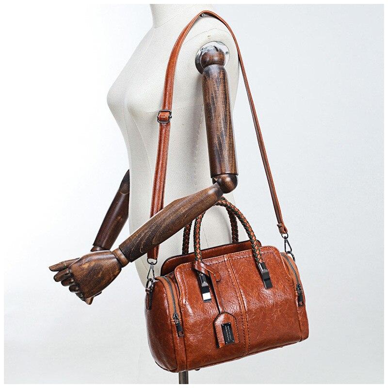 Women Bag Handbag Crossbody-Bags Message Female Vintage Trendy Designer Fashion Ladies