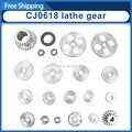 CJ0618 draaibank metal gear/spindel gear/metric metal gear/inch full gear kit