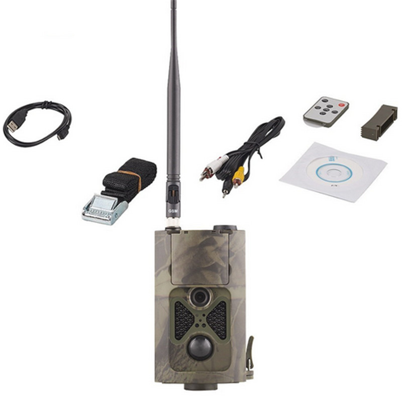 1 pièces HC-550LTE 4G MMS Trail caméra chasse étanche 1080 P Version nocturne extérieur Capming chasse Photo vidéo étanche Cam