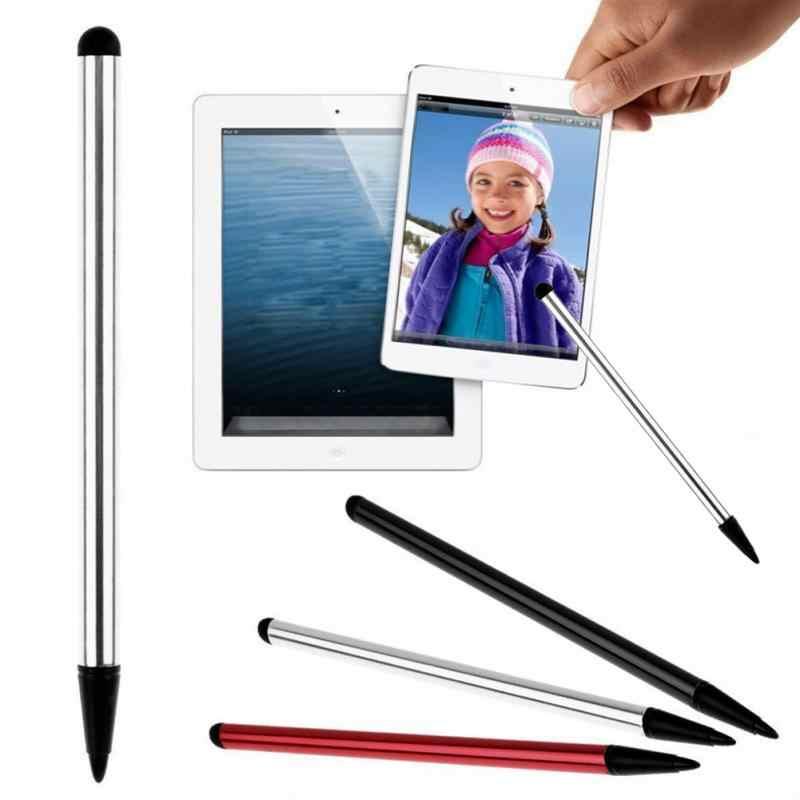 2 قطعة عالية الجودة بالسعة العالمي ستايلس القلم شاشة تعمل باللمس ستايلس قلم لوحي لباد الهاتف المحمول الهاتف المحمول