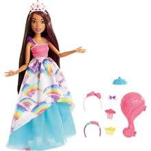 Кукла Barbie Dreamtopia Брюнетка с длинными волосами