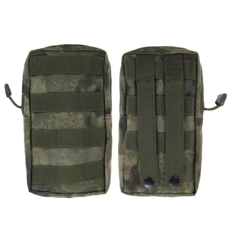 600D Utility Sport Molle Pouch Tactical Medische Militaire Tactische Vest Taille Airsoft Tas Voor Outdoor Hunting Pack Apparatuur Cam