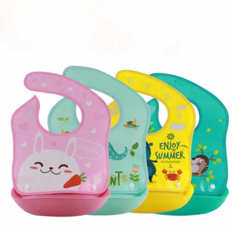 Crianças Bebê recém-nascido Bibs Do Bebê À Prova D' Água Aventais Bib Burp Cloths Infantil Toalhas Saliva Do Bebê Das Meninas Dos Meninos Dos Desenhos Animados Acessórios de Alimentação