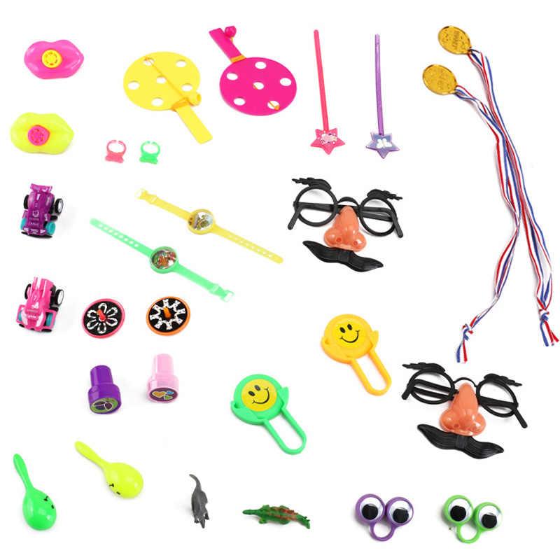 Детские школьные награды, карнавальные призы, Подарочный мешочек, 120 шт., игрушки, подарки, праздничные вечерние принадлежности, ассорти, Подарочные наполнители для пиньяты
