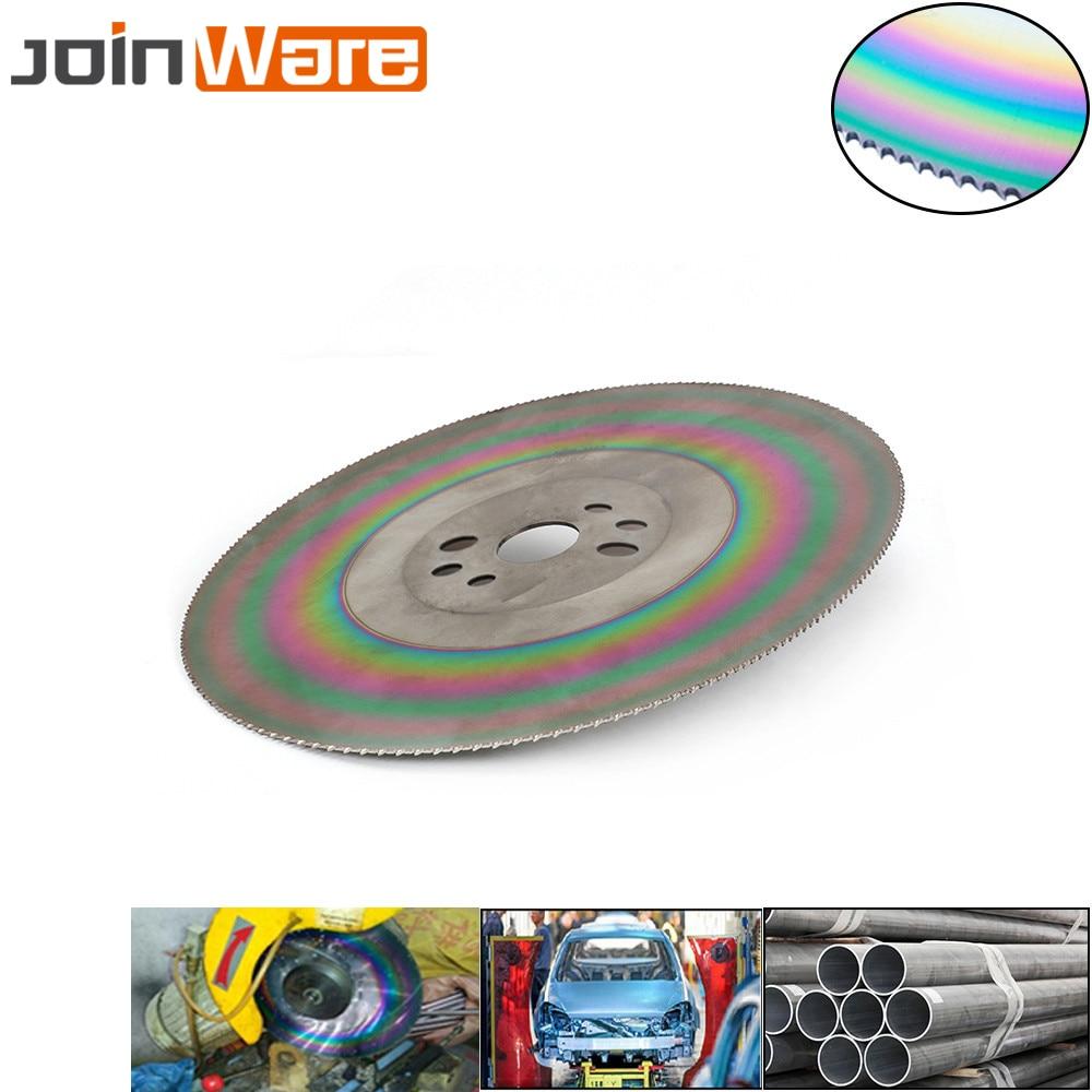 Disque de coupe de lame de scie circulaire en acier à grande vitesse de 300mm pour lacier inoxydable HSS épaisseur 1.2/1.6/2mm 12