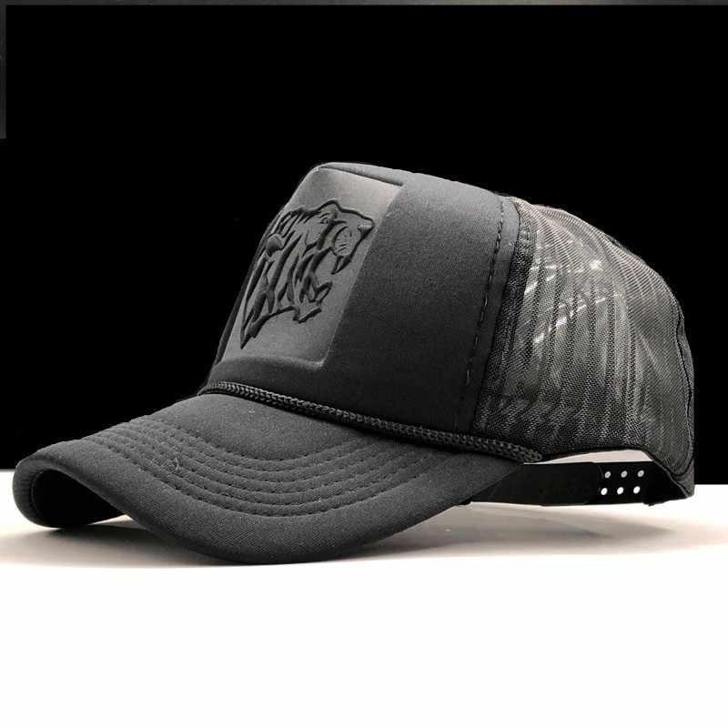الصيف شبكة الأسود ليوبارد طباعة منحني البيسبول قبعات للنساء الرجال قبعات ترد لمكانها Casquette سائق شاحنة غطاء للشعر شبكي الشمس قناع الهيب هوب قبعة