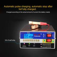 Battery Charger General For Cars And Motorcycles Fully Automatic Smart Charger 12V 24V Automatic Voltage Identification