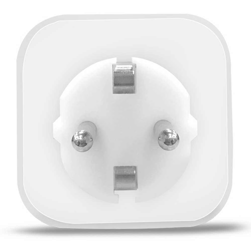 Alfawise PE1004T ue wtyczka Mini WiFi gniazdo inteligentna wtyczka pracy z Amazon Alexa Google domu aplikacji mobilnej pilot zdalnego sterowania miernik zużycia energii