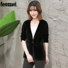 Nerazzurri ladies blazers fashionable work wear jacket elegant plus si