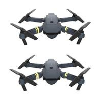 Remote Control Folding Drone HD Real time Aerial Photography Quadcopter Kit Remote Control Airplane Electronic Toys Kids Gifts