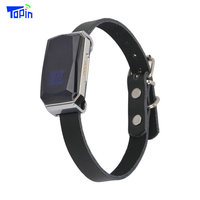 Hot Topin G12P Waterproof IP67 Mini Pets GPS AGPS LBS Wifi Tracker Real time Tracking Collar for Dog Cat Find Device Bell Rings