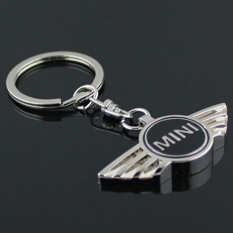Car Pendant Alloy Car Keyring Keychain Key Chain Auto Key Ring Holder For Mini Cooper Pendant Accessory image