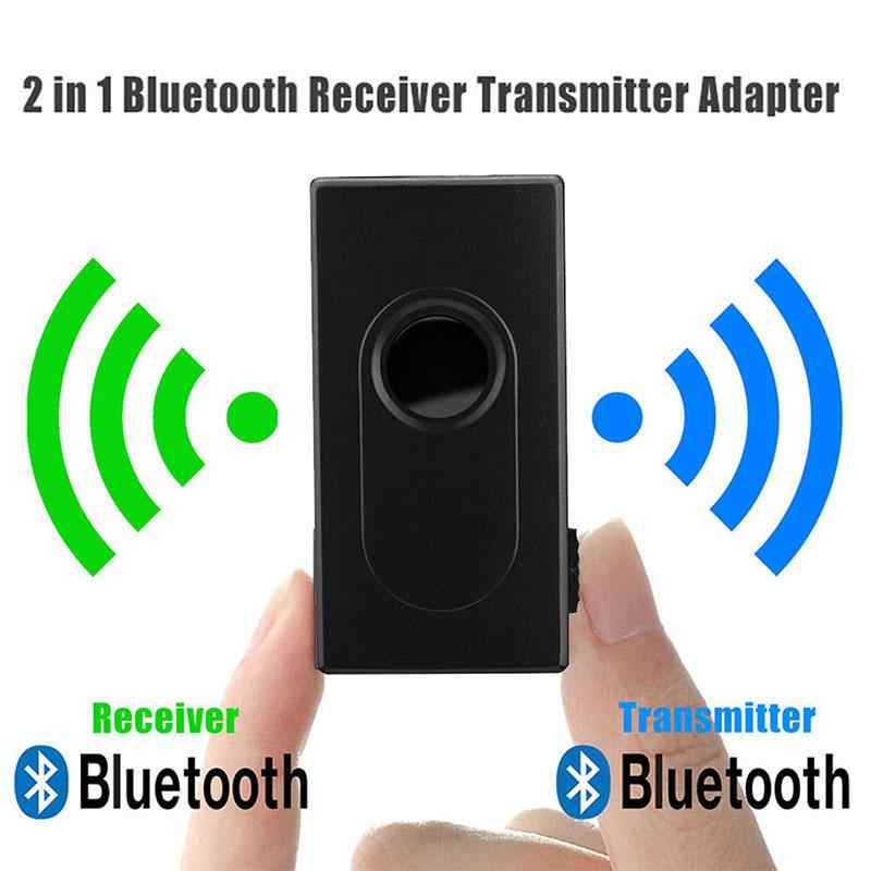 2 in 1 Wireless Bluetooth Transmitter Receiver Adapter Single Audio Music Adapter With USB Charging Cable 3.5mm Audio Cable