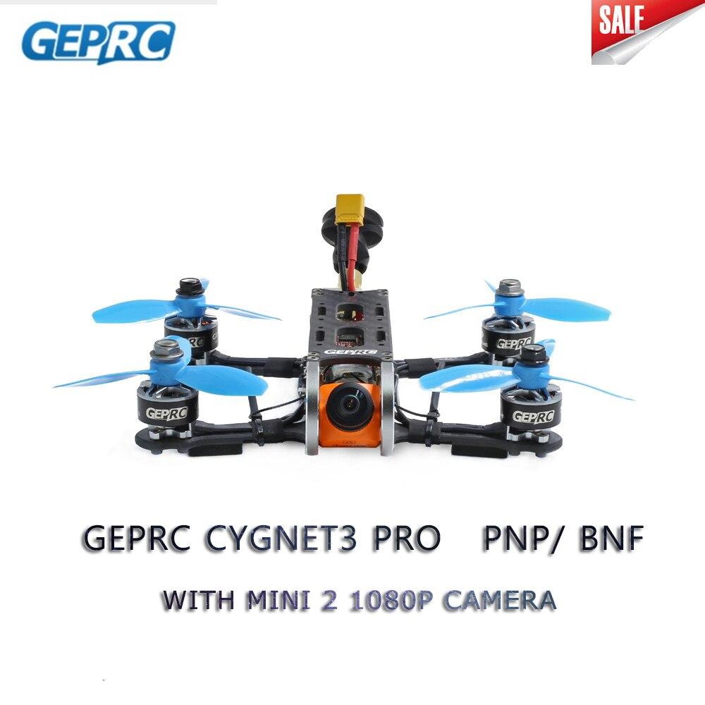 Geprc Cygnet3 Pro 145mm FPV Racing Drone PNP BNF w/ Stable F4 1507 Motor Runcam Split Mini 2 1080P Camera