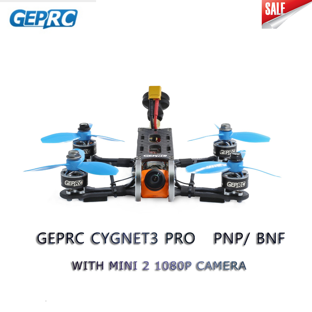 Geprc Cygnet3 Pro 145mm FPV Racing Drone PNP BNF w/estable F4 1507 Motor Runcam Split Mini 2 1080 P Cámara