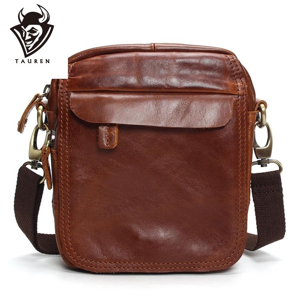 ヴィンテージ牛革本革メッセンジャーバッグ男性旅行ビジネスクロスボディ男 Sacoche オムボルサ Masculina バッグ  グループ上の スーツケース & バッグ からの クロスボディ バッグ の中 1