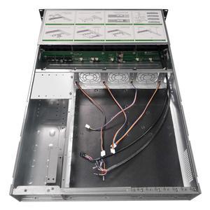 Image 5 - Carcasa de servidor de almacenamiento IPC 2U de 19 pulgadas, chasis de intercambio en caliente, 8HDD, bahías IPFS, S265 8, 6GB, SATA, Avión de fondo con fuente de alimentación de 600W