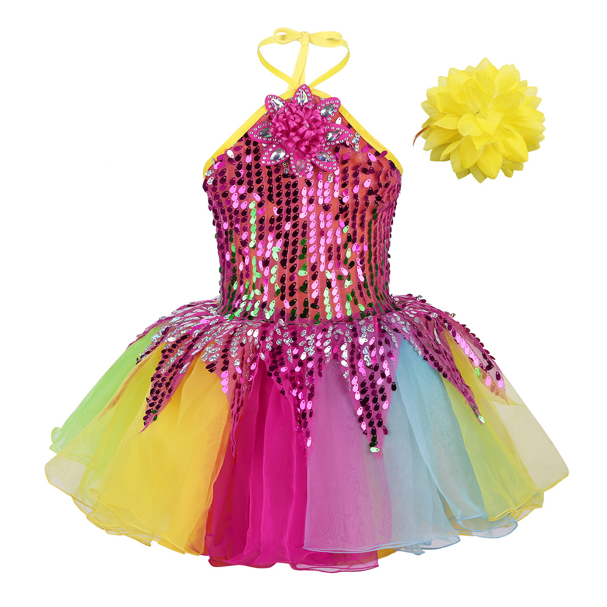 Colors Of Love RED Dance Costume Camisole Ballet Tutu Clearance Child Sizes /& AS