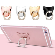 Finger Ring Mobile Phone Smartphone Stand Holder For iPhone X 8 7 Plus Universal Phone holder IPAD Car Mount For Samsung(China)