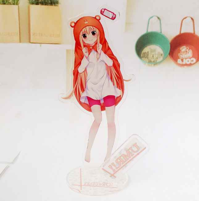 1 Pc Lovely Himouto Umaru-chan Acrylic Stand Model Toys Plate Holder Action Figure Pendant Toy Kids Gift